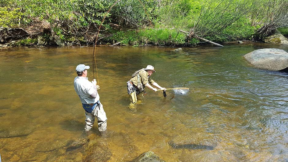 nc fly fishing guide service fly fishing lessons guide