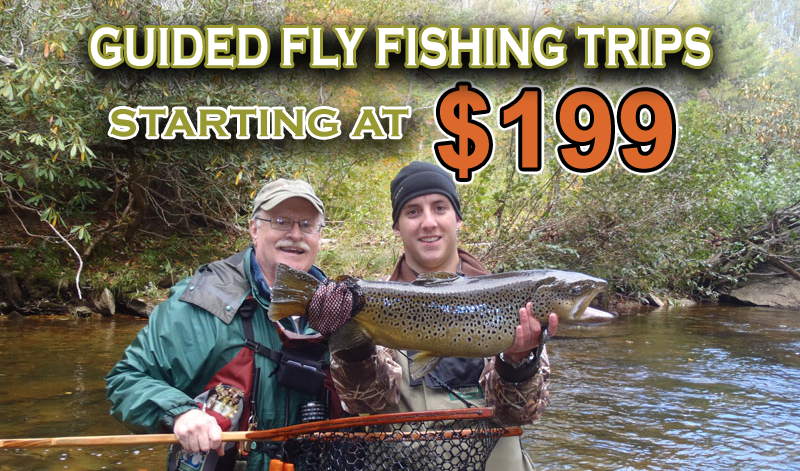 NC Fly Fishing Guide Service  Fly Fishing Lessons & Guide