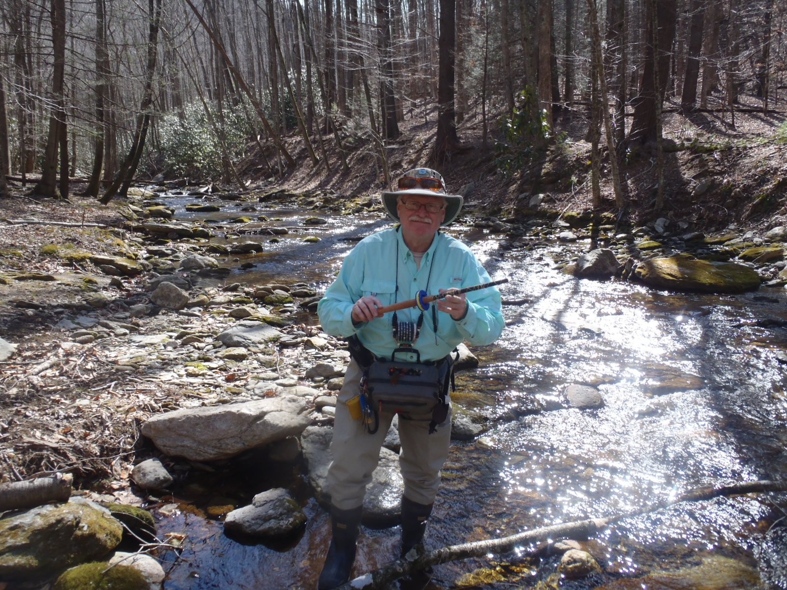 NC Mountain Tenkara Fly Fishing Guide Service