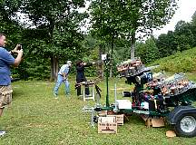 Mobile Sporting Clay Target Shooting